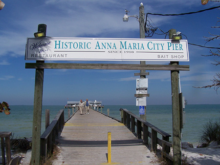 Fishing piers anna maria city pier for Tampa fishing piers
