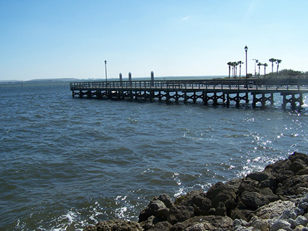 Fishing piers macdill air force base for Tampa fishing piers